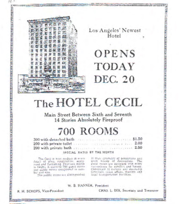 Creepy Cecil Hotel Nominated For Historic Cultural Monument Status Laist