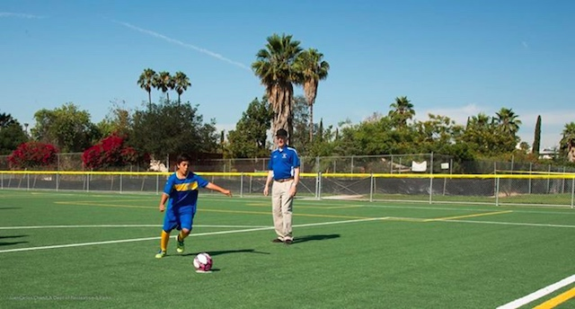 L A S Soccer Fields Are All Being Converted To Artificial