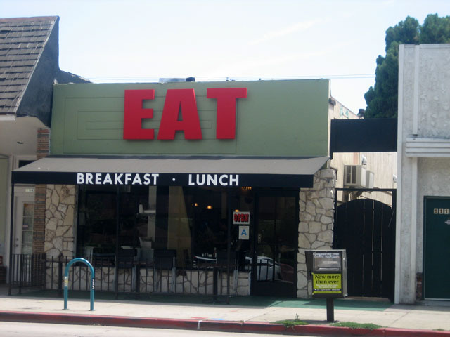 Eat is the reincarnation of Ned's and serves breakfast and lunch only