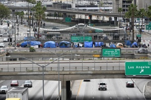 LA Officials Submit Plans For Relocation Of Homeless Away From Freeways