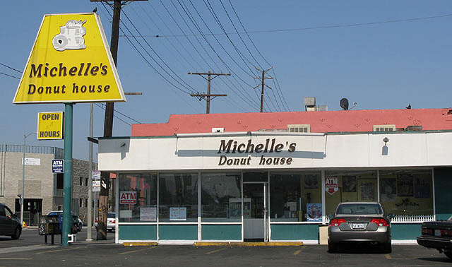 Michelle's Donut House on Santa Monica Blvd.