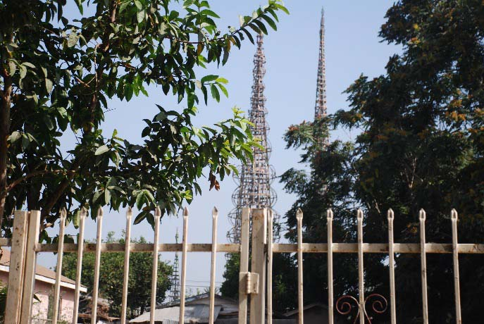 View of the Watts Towers