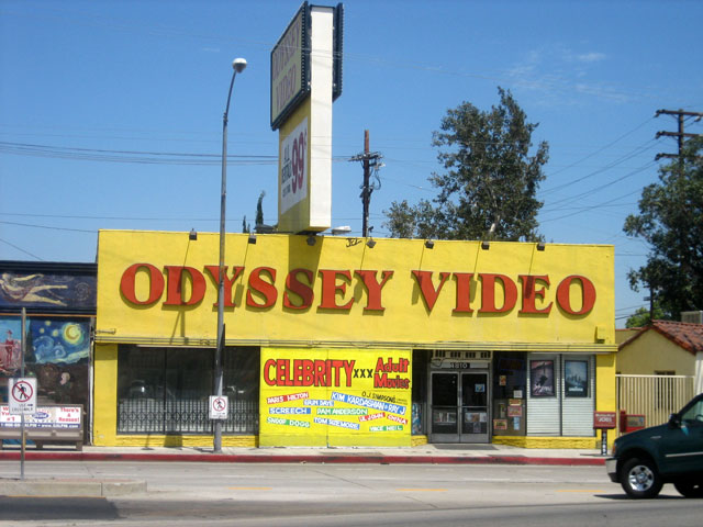 Odyssey Video is where you can buy or rent your porn if you live in or near NoHo Arts