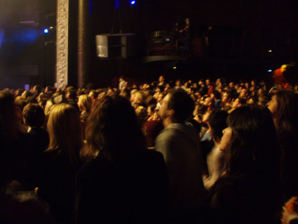 Packed house at Avalon for Of Montreal on 11/8/07