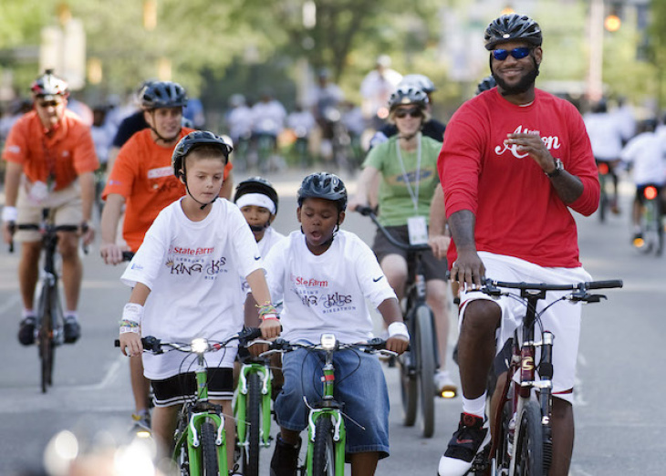 Hey, LeBron: If You Plan On Biking In LA, Here Are Some Tips To Stay Alive