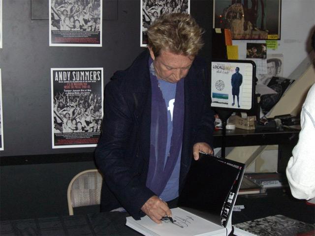 Andy Summers at Amoeba Los Angeles