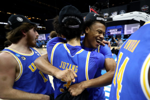 UCLA Men's Basketball Team Lands In Final Four After Upsetting Michigan
