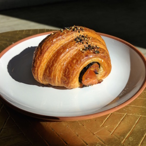 You Can Now Get A Croissant Stuffed With Sushi