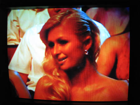 Paris Hilton, Butt of the Best Joke of the Night at the MTV Movie Awards
