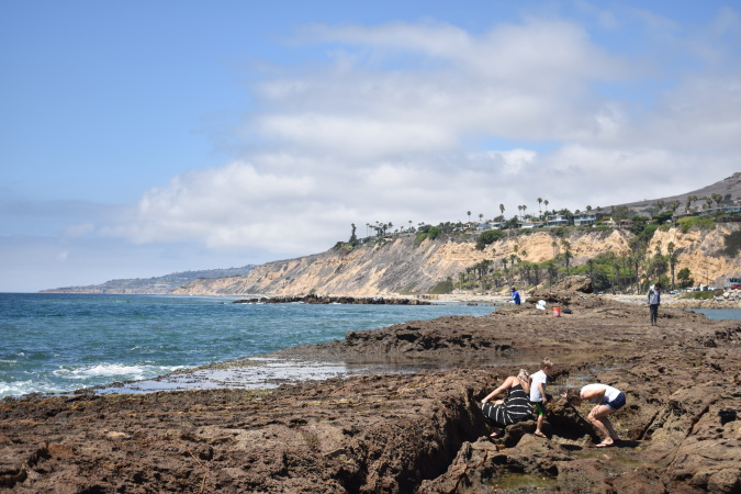 Tired Of Crowded Beaches? This Hidden Gem Has Tide Pools, Plus Some Cold War History