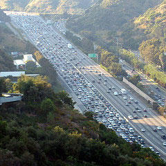 Sepulveda Pass in Los Angeles