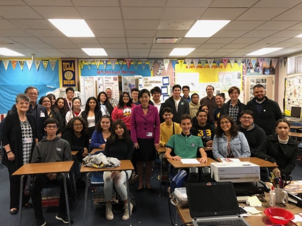 These Alhambra Students' Schoolwork Went From The Classroom To The Halls Of Congress