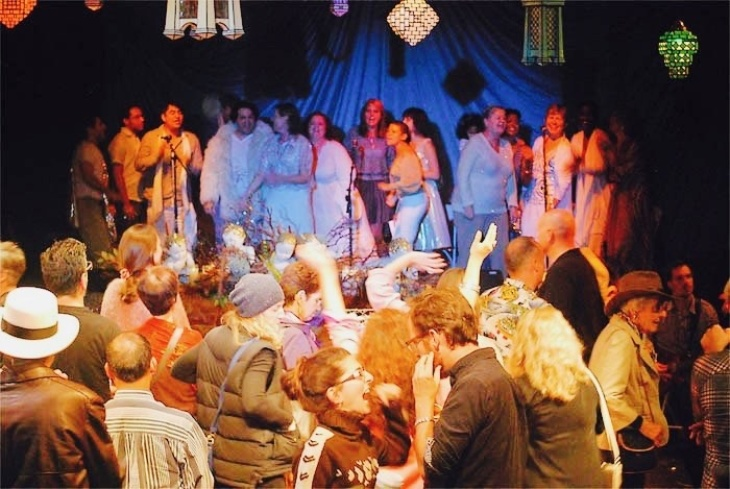 Not Religious? This Sunday Service In Silver Lake Worships Theater