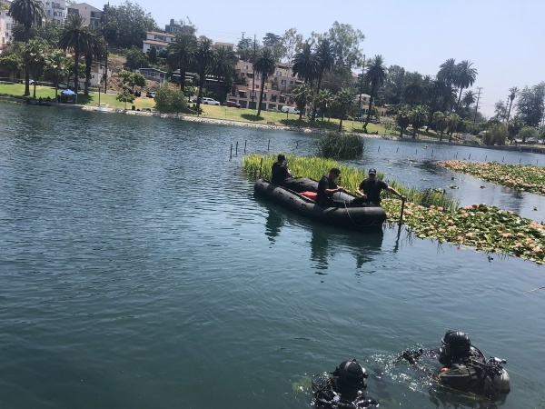 Body Recovered At Echo Park Lake After Pedal Boat Capsized