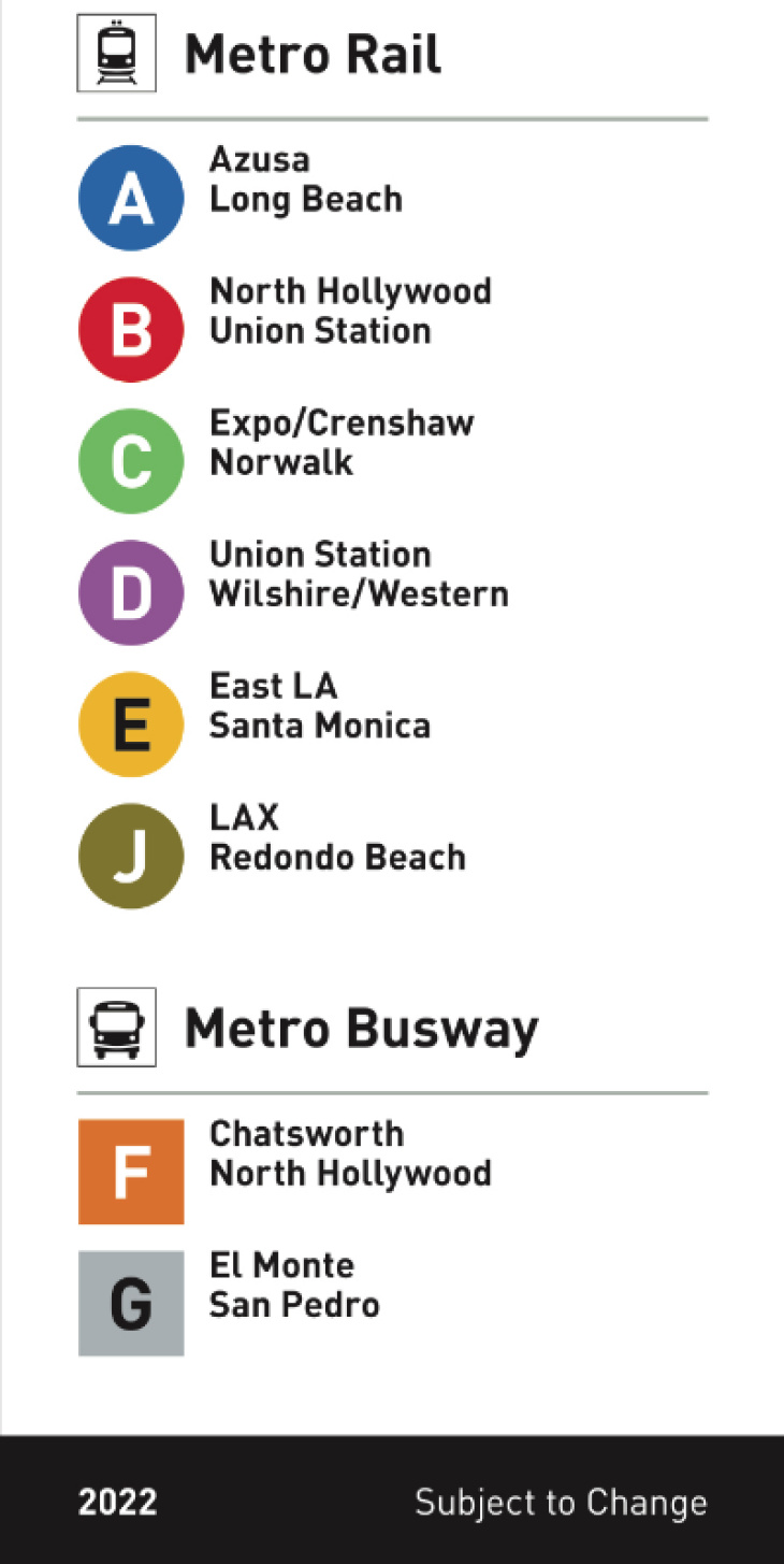 Redline Metro Map Los Angeles.Metro Is Killing Color Names On La S Buses And Trains Laist