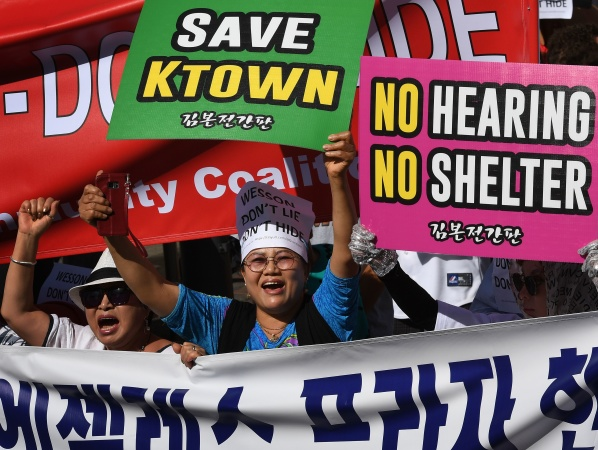 On Second Thought, That Koreatown Emergency Homeless Shelter Might Get Built -- Somewhere Else