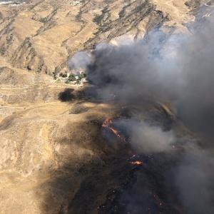 50,000 Evacuated, Homes Burned In The Tick Fire Near Agua Dulce