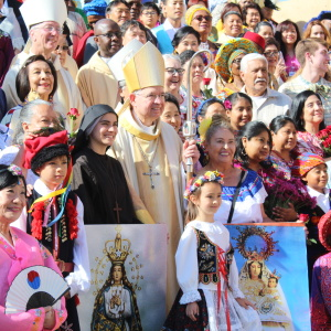 Photos: The Diversity Among Catholics In LA Was On Full Display This Weekend