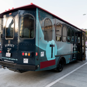 These West Hollywood Trolleys Offer Free Rides And Sunset Strip Nostalgia