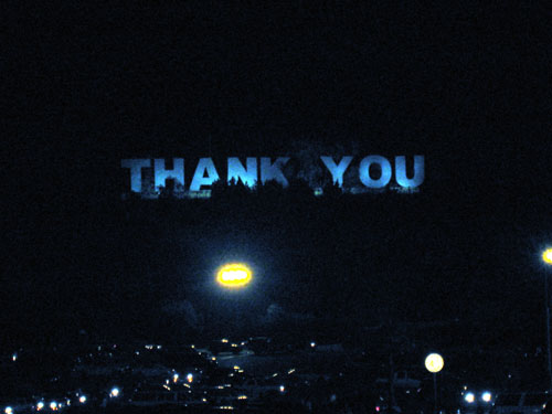 The Dodgers Thank Me