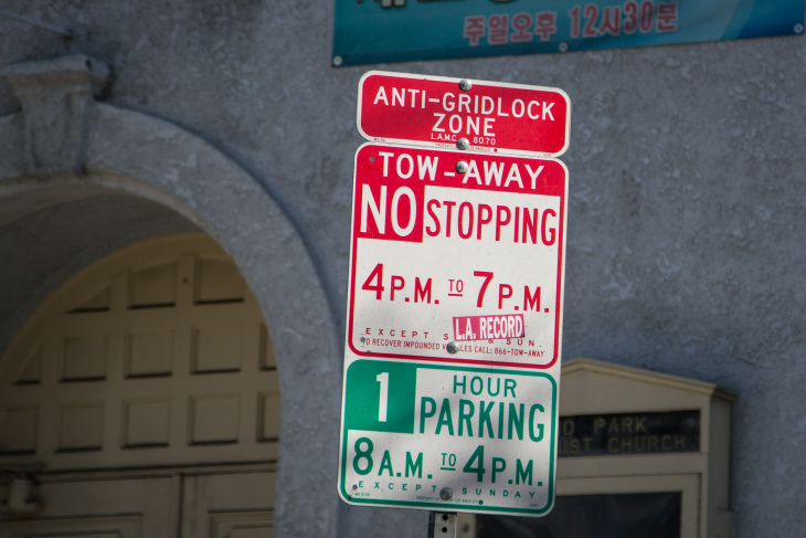 Are LA's Anti-Gridlock Zones Being Enforced? Also What Are They: LAist