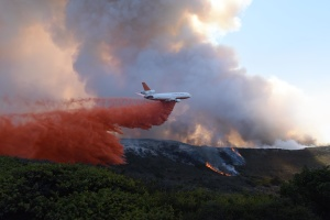 A Growing Threat For Military Bases In California And Beyond: Wildfires Driven By Climate Change