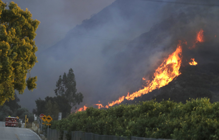 Wildfires in northern and southern California wreak havoc