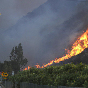 Wildfires Bedevil Ventura County Even As It Recovers From A Mass Shooting