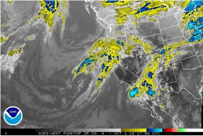 Rain And 'Sneaker' Waves: It's Not A Hurricane Anymore, But Rosa Could Still Be Dangerous For SoCal