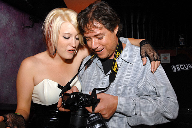 Kimberly Kane and Luke Ford