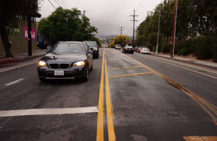 Report: Rowena 'Road Diet' In Silver Lake Worked, But...