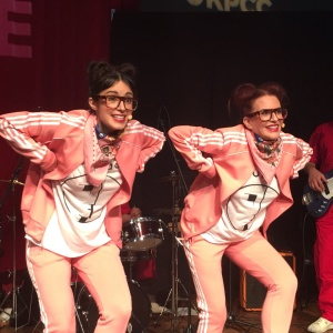 'Will & Grace' Actress Megan Mullally Visited Us With Her 'Punk Vaudeville' Band