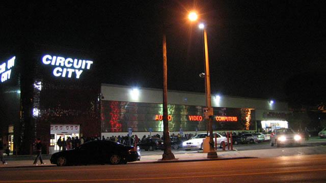 circuit city black friday last year in Los Feliz