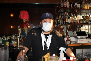 Long Beach's Wrigley Tavern Reopens -- With Face Masks, Temperature Guns And Tons Of Hand Sanitizer