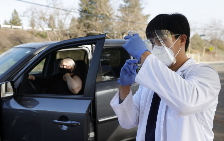 California Counties 'Flying The Plane As We Build It' In A Plodding Vaccine Rollout