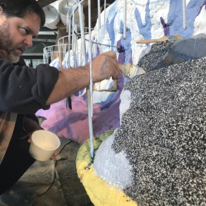 Here's How These Folks Built A Rose Parade Float The Old School Way