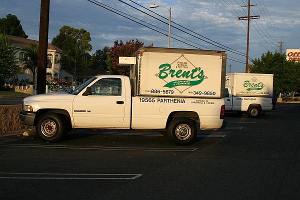 brents delivery truck