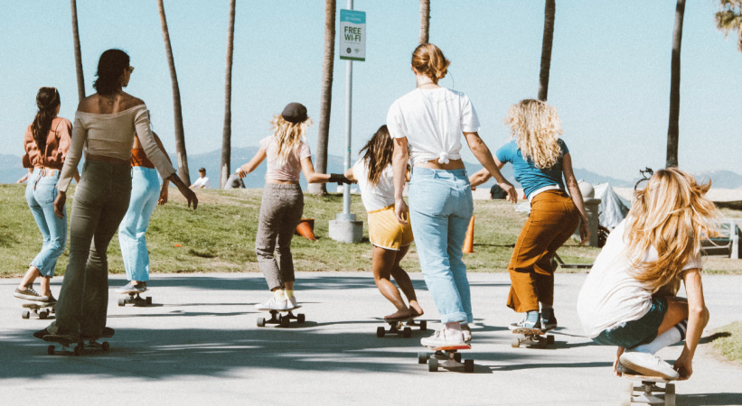 Don't Tell These Venice Skateboarders To Be Careful