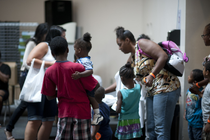 The Number Of Children Living On Skid Row Has Doubled Since Last Year