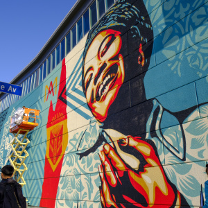 A Bunch of Artists Just Turned This South LA High School Into An Outdoor Mural Gallery