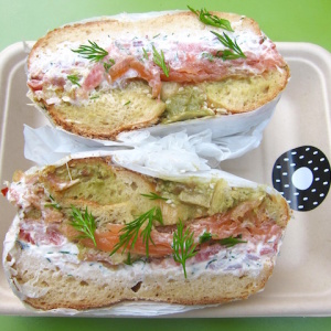 Bagel Truck 'Yeastie Boys' Sling Gourmet Sandwiches In Their New Shop