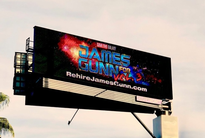 Why These 'Guardians Of The Galaxy' Fans Bought A Billboard Next To Disneyland