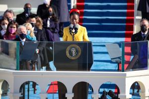 'The Hill We Climb': Watch Poet Amanda Gorman Recite Her Poem At Biden's Inauguration