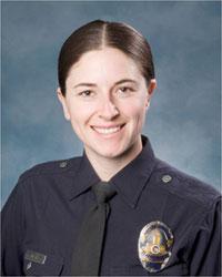 LAPD Officer Spree Desha