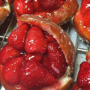 Those Famous Strawberry Doughnuts Are Finally Back At Donut Man