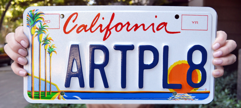 This Iconic California License Plate Has A Very Creative History