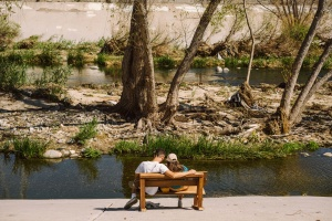 What Was The Deal With Those Benches In The LA River?