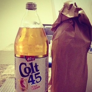 This Bar In Hollywood Sells A 40 In A Bag For $15