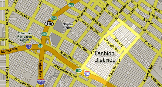 Neighborhood Project: Fashion District: LAist