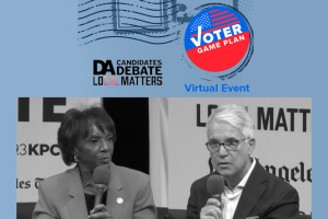 Key Takeaways In LA DA Debate: Challenger George Gascón And Incumbent Jackie Lacey Make Their Cases